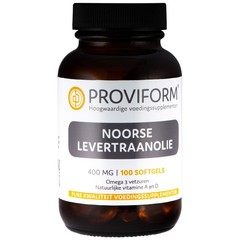 Proviform Noorse levertraanolie (100 softgels)
