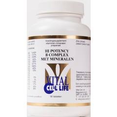 Vital Cell Life Hi potency B complex & mineralen (90 tabletten)