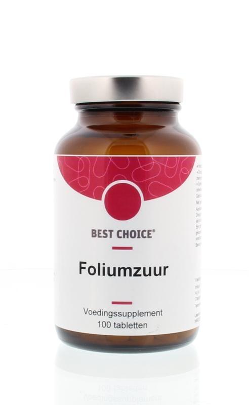 Best Choice Best Choice Foliumzuur 400 Vitamine B11 (100 tabletten)
