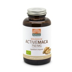 Mattisson Biologische Active maca 750 mg (90 vcaps)