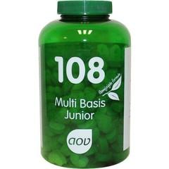 AOV 108 Multi basis junior (180 kauwtabletten)