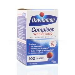 Davitamon Compleet weerstand (100 dragees)