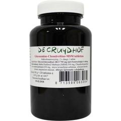 Cruydhof Glucosamine chondroitine MSM (120 tabletten)