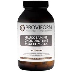 Proviform Glucosamine chondroitine complex MSM (240 tabletten)