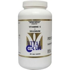 Vital Cell Life Vitamine E & selenium (200 vcaps)