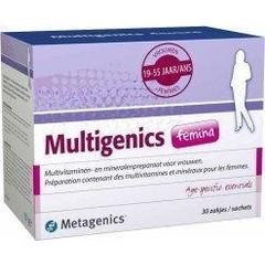 Metagenics Multigenics femina (30 sachets)