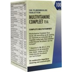 Teva Multivitamine compleet (100 tabletten)