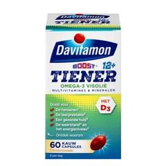 Davitamon Boost 12+ omega 3 visolie (60 capsules)