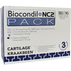 Trenker Duopack Biocondil 180 tabletten + NC2 90 caps (1 set)