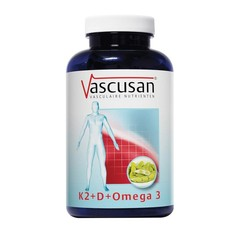 Vascusan K2 vitamine D omega 3 (60 capsules)