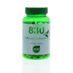 AOV 830 Saffraan & l-theanine (30 vcaps)
