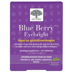 New Nordic Blue berry eyebright (120 tabletten)
