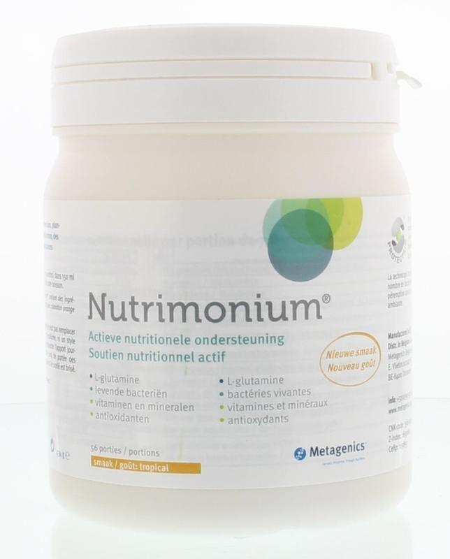 Metagenics Nutrimonium tropical (434 gram)