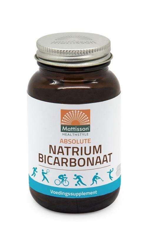 Mattisson Mattisson Natriumbicarbonaat (zuiveringszout) 800 mg (120 capsules)