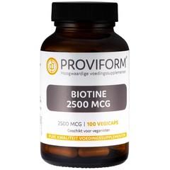 Proviform Biotine 2500 mcg (100 vcaps)