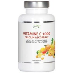 Nutrivian Vitamine C1000 mg calcium ascorbaat (200 tabletten)
