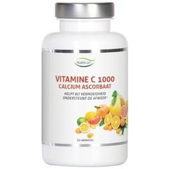 Nutrivian Vitamine C1000 mg calcium ascorbaat (50 tabletten)