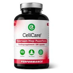 Cellcare Valeriaan-hop-passiflora (180 vcaps)