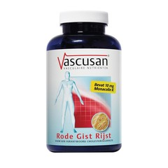 Vascusan Rode gist rijst (90 capsules)
