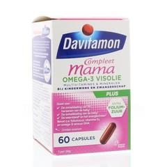 Davitamon Compleet mama plus visolie (60 capsules)