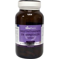 Sanopharm Multivitaminen/mineralen gold foodstate (60 tabletten)