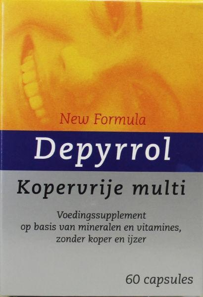 Depyrrol Depyrrol kopervrije multi (60 vcaps)