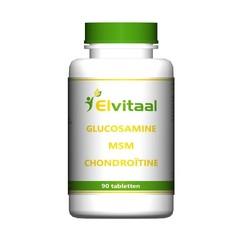 Elvitaal Glucosamine MSM chondroitine (90 tabletten)