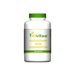 Elvitaal Glucosamine MSM chondroitine (180 tabletten)