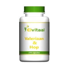 Elvitaal Valeriaan en hop (270 capsules)