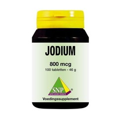 SNP Jodium 800 mcg + Q10 (100 tabletten)