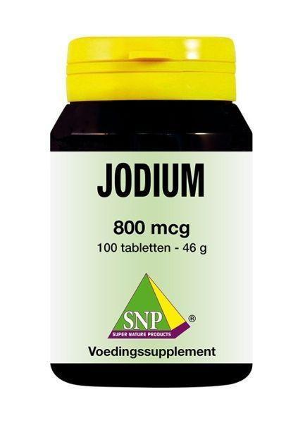 SNP SNP Jodium 800 mcg + Q10 (100 tabletten)