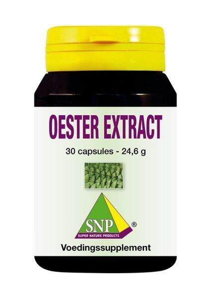 SNP SNP Oester extract 700 mg (30 capsules)