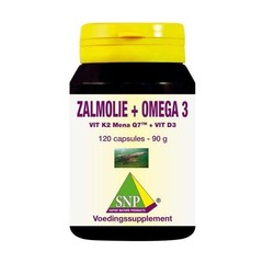 SNP Zalmolie & vit. K2 mena Q7 & vit. D3 & vit. E (120 capsules)