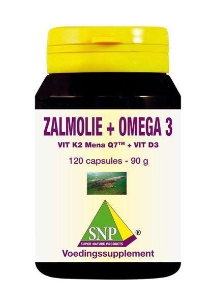 SNP SNP Zalmolie & vit. K2 mena Q7 & vit. D3 & vit. E (120 capsules)