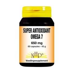 NHP Super antioxidant omega 7 650 mg (60 capsules)