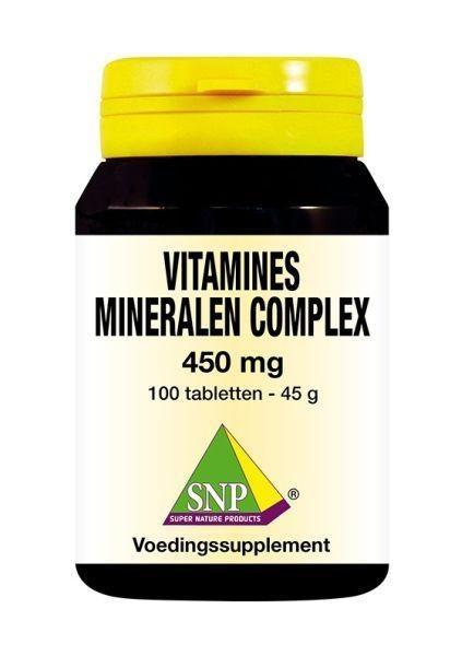 SNP SNP Vitamines mineralen complex 450 mg (100 tabletten)