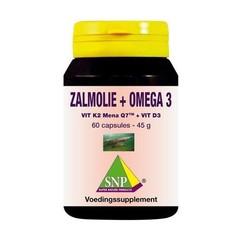 SNP Zalmolie & vit. K2 mena Q7 & vit. D3 & vit. E (60 capsules)