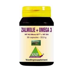 SNP Zalmolie & vit. K2 mena Q7 & vit. D3 & vit. E (30 capsules)