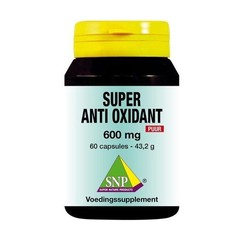 SNP Super anti oxidant 600 mg puur (60 capsules)