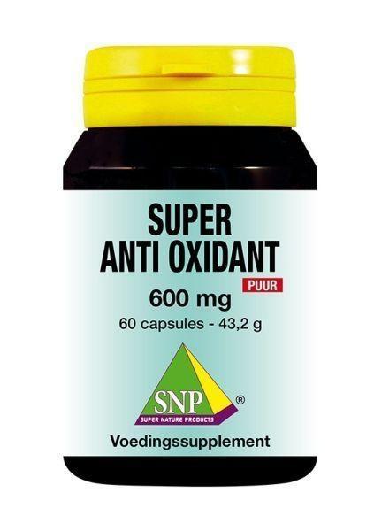 SNP SNP Super anti oxidant 600 mg puur (60 capsules)