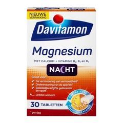 Davitamon Magnesium speciaal voor de nacht (30 tabletten)