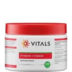 Vitals Vitamine C poeder (calciumascorbaat) (200 gram)
