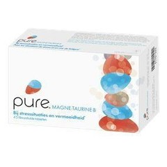 Pure magne-taurine-B (45 tabletten)