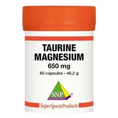 SNP Taurine 325 mg Magnesium 325 mg - Puur (60 capsules)
