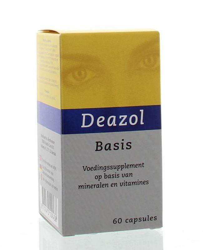 Deazol Deazol basis (60 vcaps)