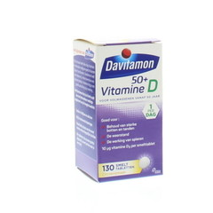Davitamon D 50+ smelttablet (130 tabletten)