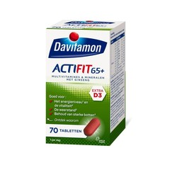Davitamon Actifit 65+ (70 tabletten)