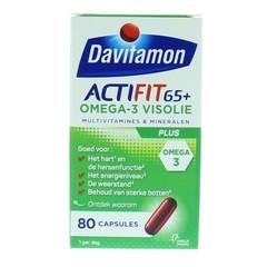 Davitamon Actifit 65+ omega 3 (80 capsules)
