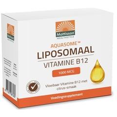 Mattisson Aquasome vitamine B12 1000 mcg liposomaal (30 stuks)