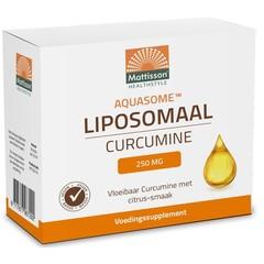 Mattisson Aquasome curcumine 250 mg liposomaal (30 stuks)